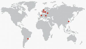 locations of LEAX worldwide facilities